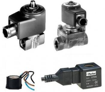 一般电磁阀都是单向工作,因此要注意是否有反压差,如有安装止回阀.图片